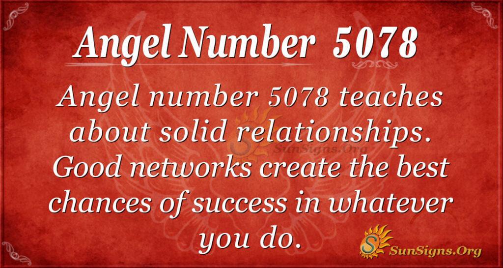 5078 angel number