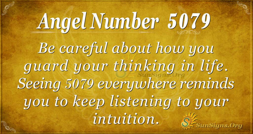 5079 angel number