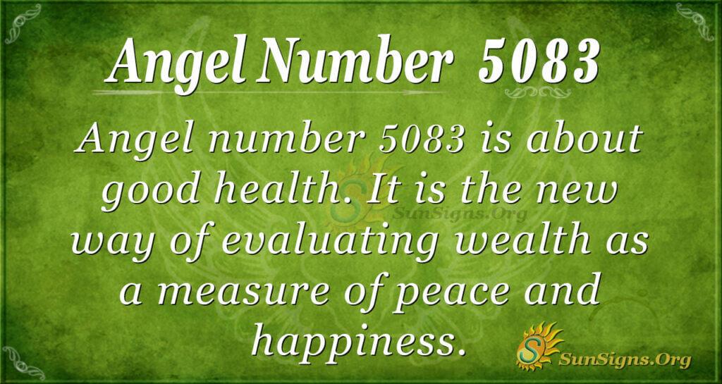 5083 angel number