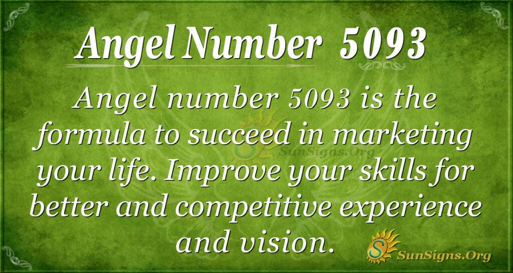 5093 angel number