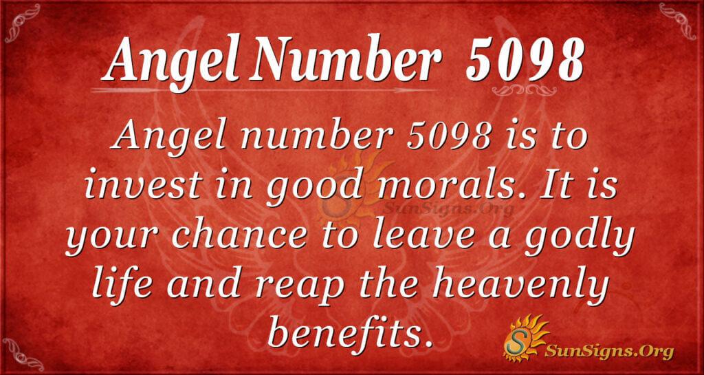 5098 angel number