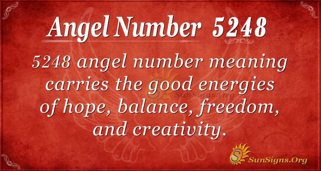 5248 angel number