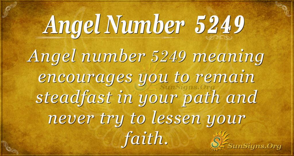 5249 angel number