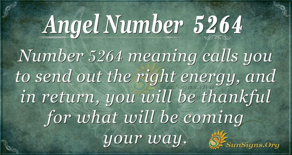 5264 angel number