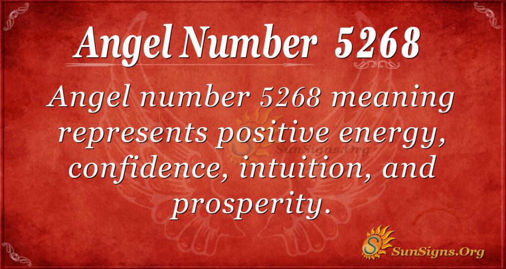5268 angel number