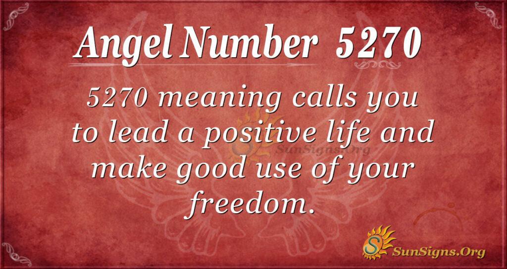 5270 angel number