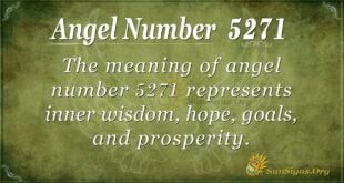 5271 angel number