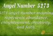5273 angel number
