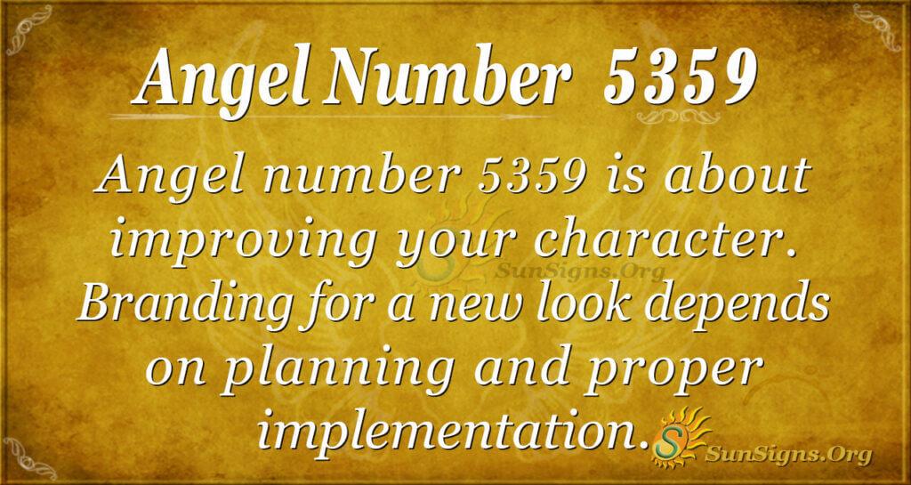 5359 angel number