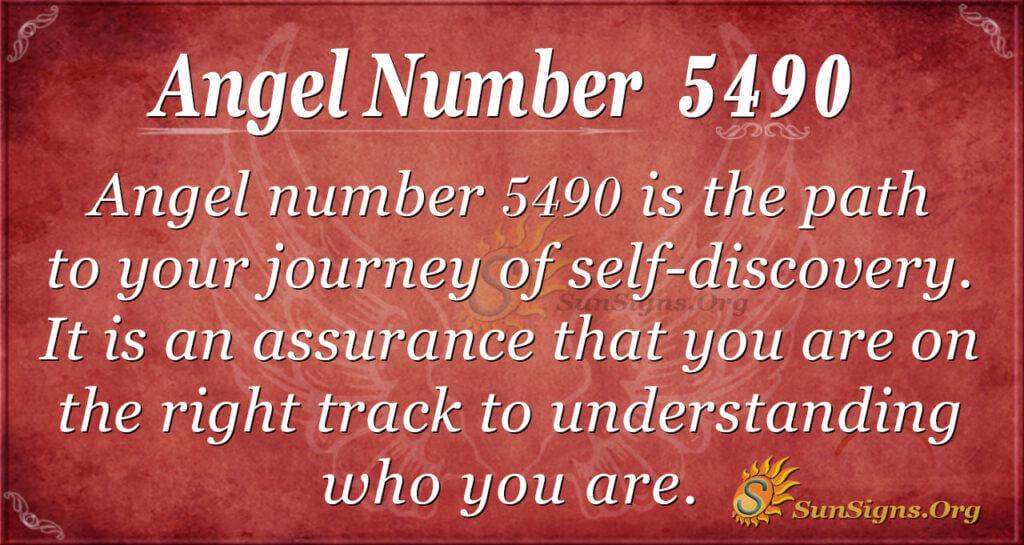 5490 angel number