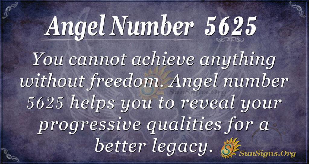 5625 angel number