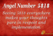 5818 angel number