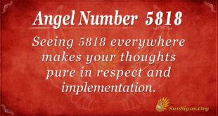 5818 angel number