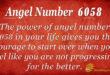 6058 angel number