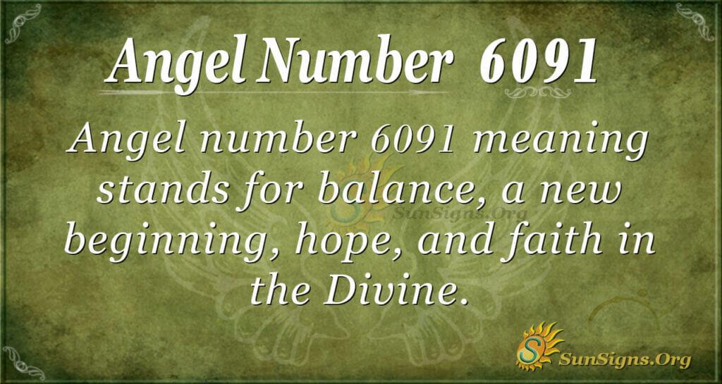 6091 angel number