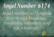 6174 angel number