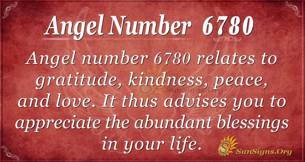 6780 angel number