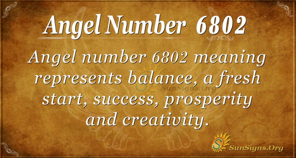 6802 angel number