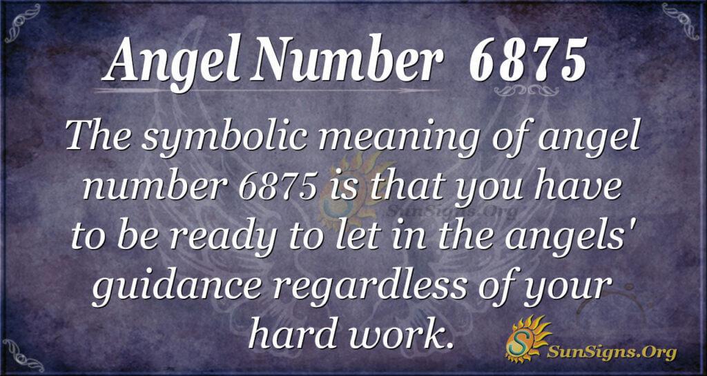 6875 angel number