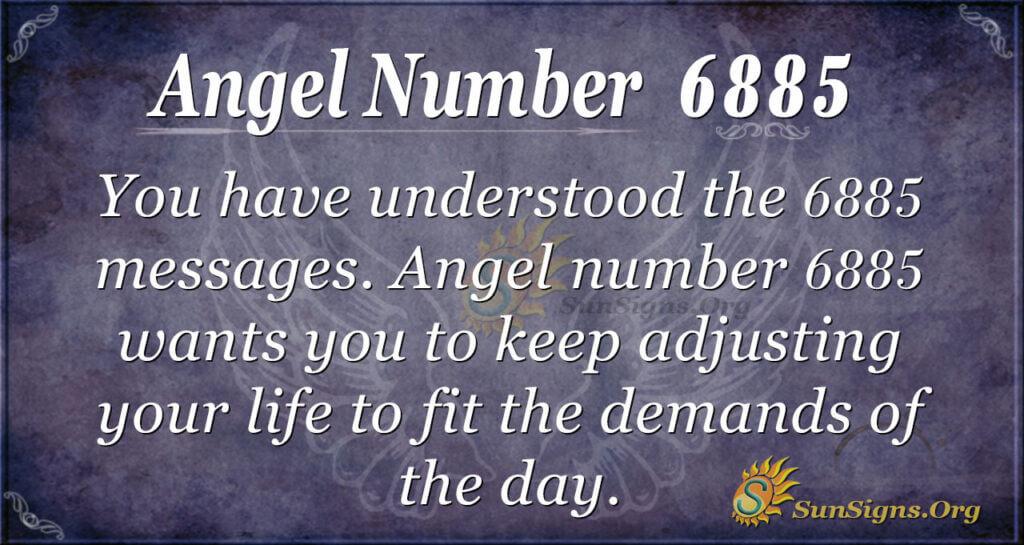 6885 angel number