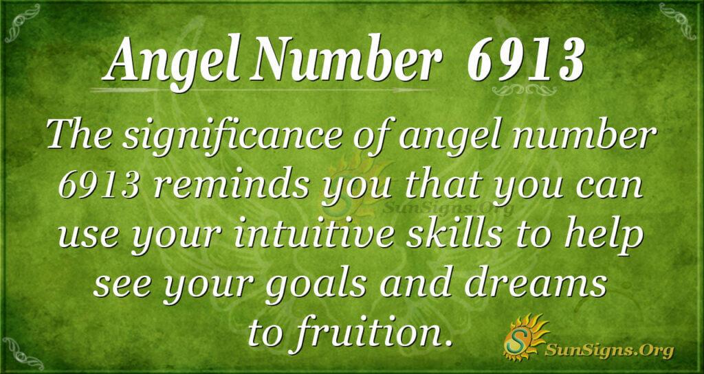 6913 angel number