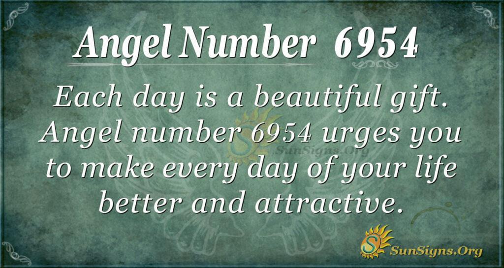6954 angel number