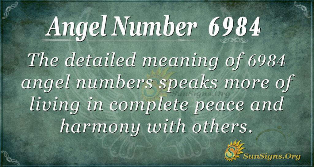 6984 angel number