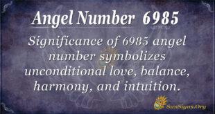 6985 angel number