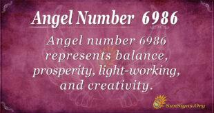 6986 angel number