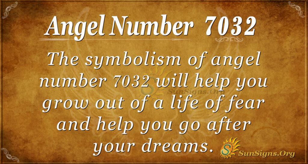 7032 angel number