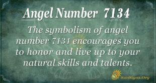 7134 angel number