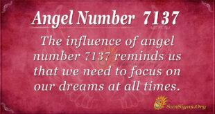 7137 angel number