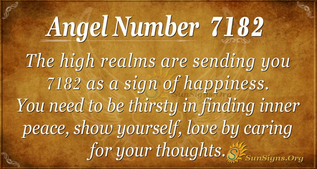 7182 angel number