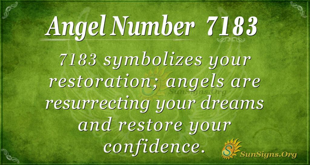 7183 angel number