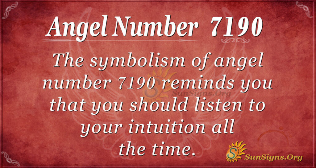 7190 angel number