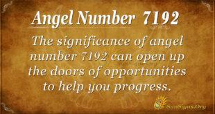 7192 angel number