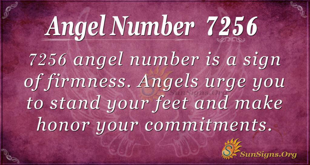 7256 angel number