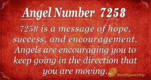 7258 angel number