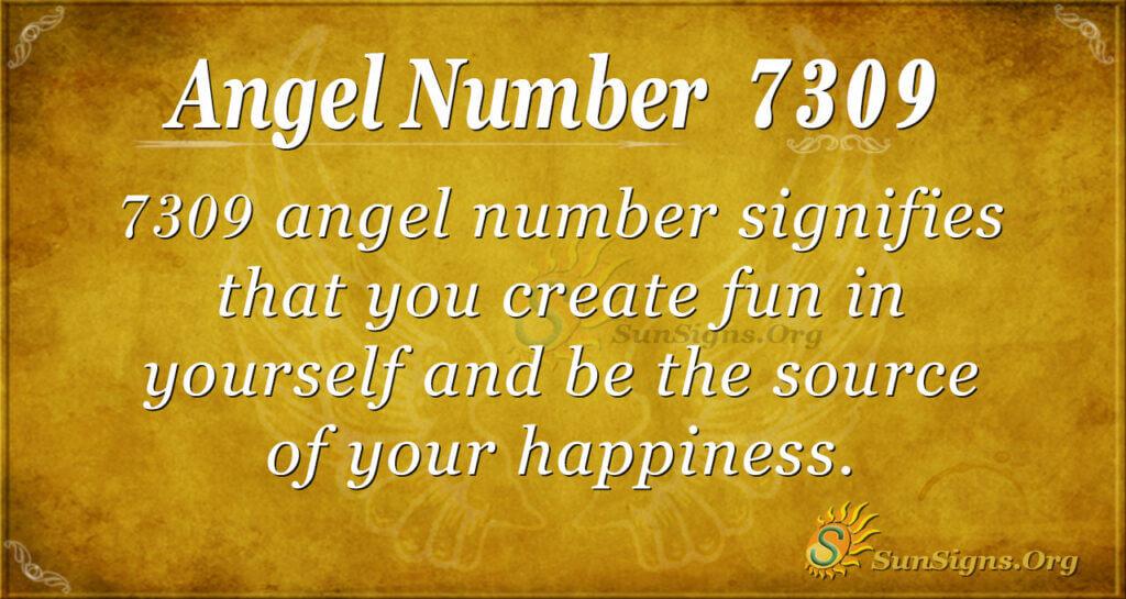 7309 angel number