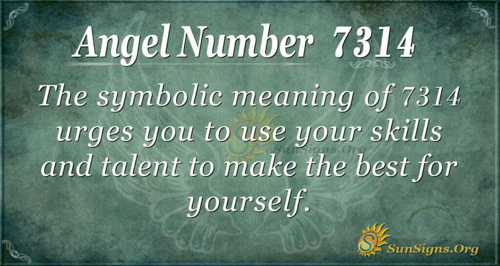 7314 angel number