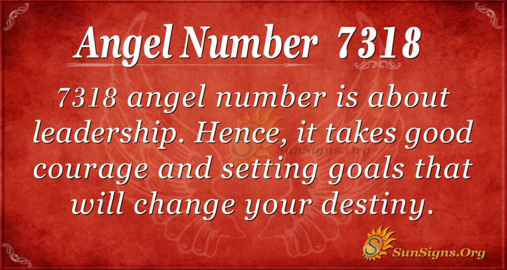 7318 angel number