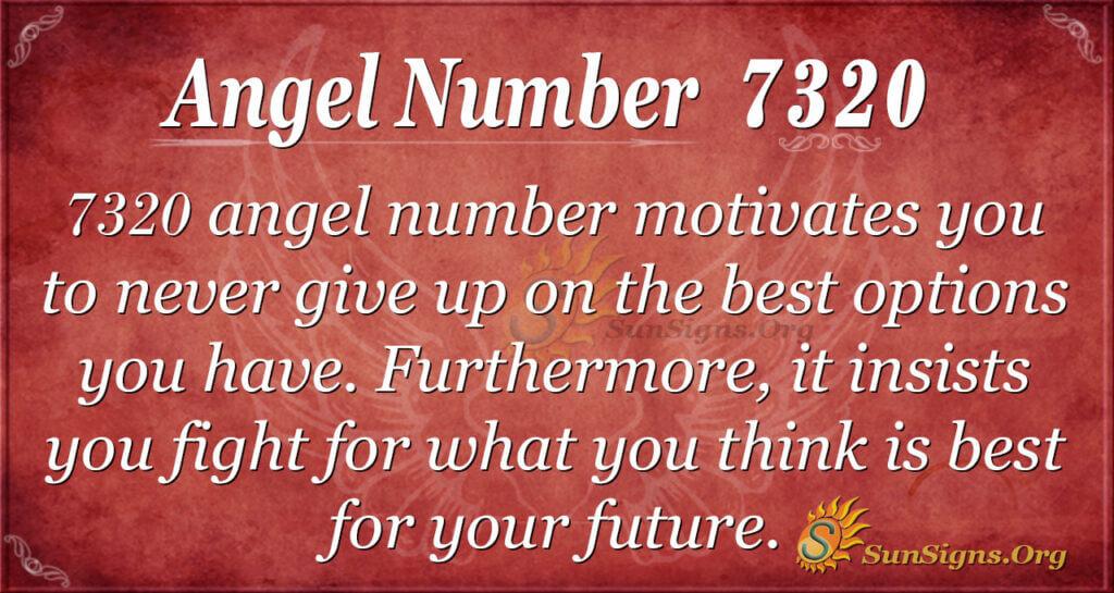 7320 angel number