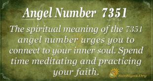 7351 angel number