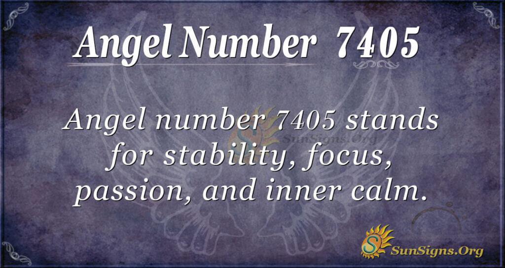 7405 angel number