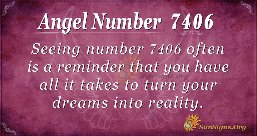 7406 angel number