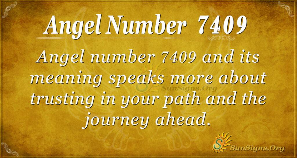 7409 angel number