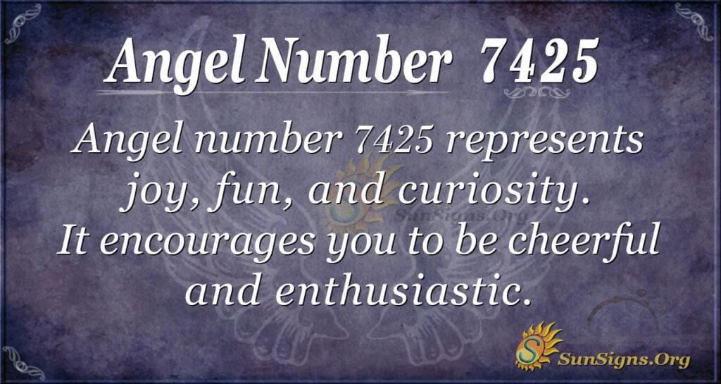 7425 angel number