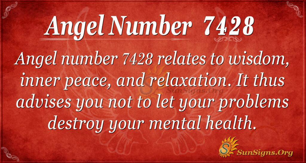 7428 angel number