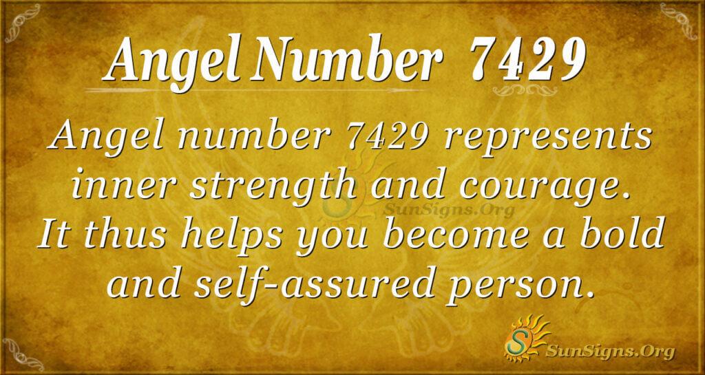 7429 angel number