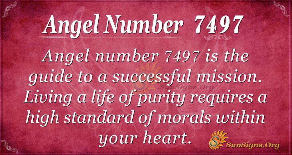 7497 angel number